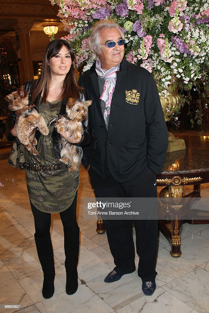 Flavio Briatore and Elisabetta Gregoraci Sightings in Monaco : News Photo