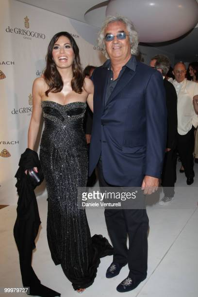 Flavio Briatore and Elisabetta Gregoraci attend the de Grisogono party at the Hotel Du Cap on May 18 2010 in Cap D'Antibes France
