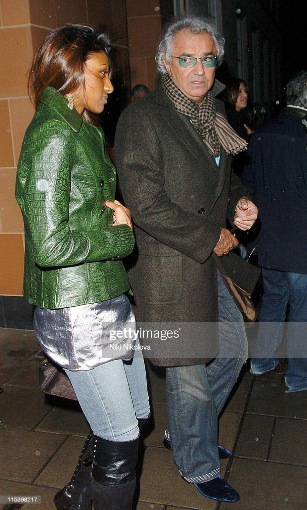 Flavio Briatore Sighting at Cipriani's Restaurant in London - December 7, 2005