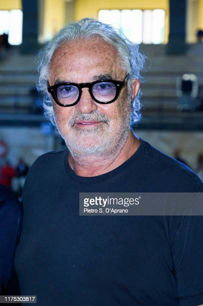 Flavio Briatore attends the Benetton fashion show during the Milan Fashion Week Spring/Summer 2020 on September 17 2019 in Milan Italy