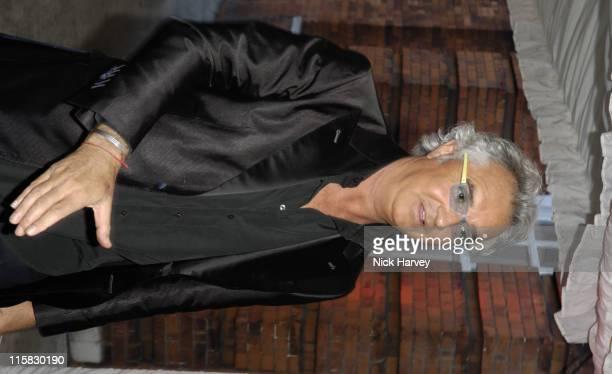 Flavio Briatore during Dieago DellaValle Celebrate Opening of Roger Vivier London Store in London Great Britain