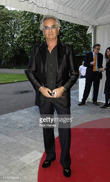 Flavio Briatore during Dieago DellaValle Celebrate Opening of Roger Vivier  London Store in London Great Britain 02bd8729976