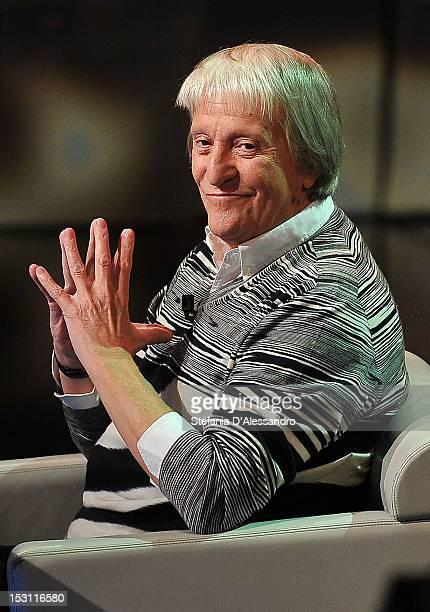 Flavio Caroli attends 'Che Tempo Che Fa' Italian TV Show held at Rai Studios on September 30 2012 in Milan Italy