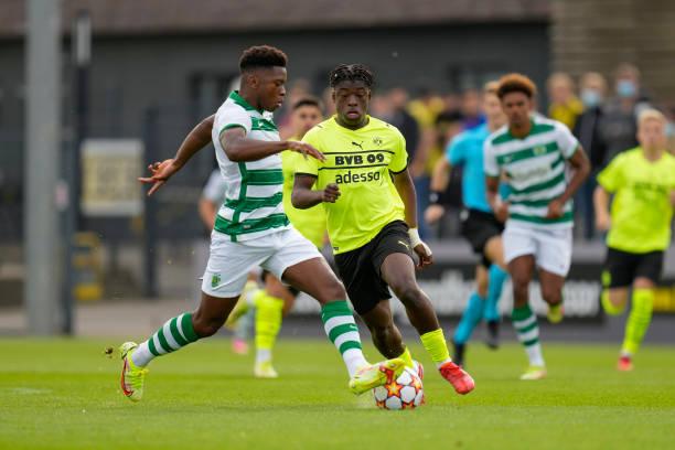 DEU: Borussia Dortmund v Sporting CP: Group C - UEFA Youth League
