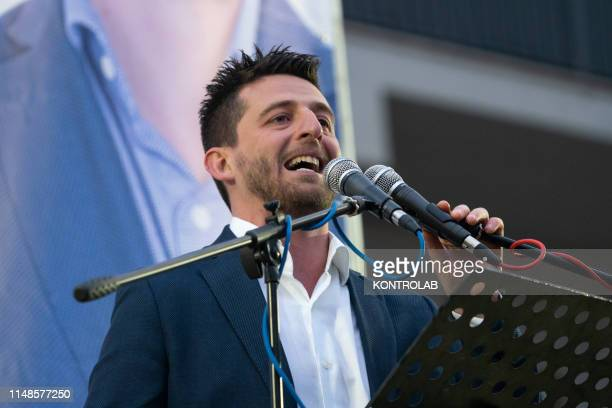 Flavio Stasi engineer 35 years old candidate for Mayor of the new municipality of Corigliano Rossano third largest city in Calabria Southern Italy...