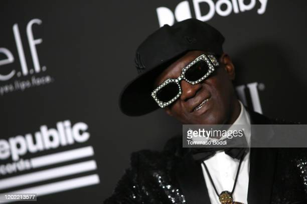 Flavor Flav attends Republic Records Grammy After Party at 1 Hotel West Hollywood on January 26 2020 in West Hollywood California