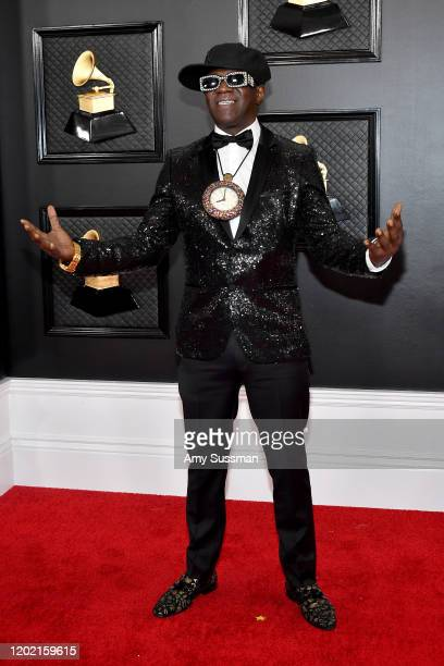 Flavor Flav attends the 62nd Annual GRAMMY Awards at Staples Center on January 26 2020 in Los Angeles California