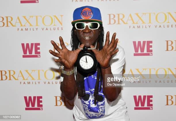 Flavor Flav attends WE tv and Traci Braxton celebrate the new season of Braxton Family Values at The Skylark on August 21, 2018 in New York City.