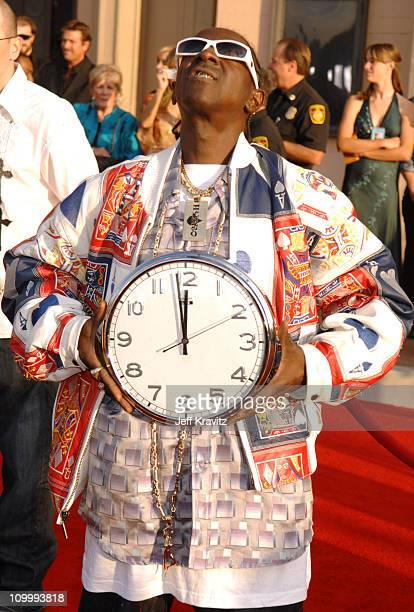 Flavor Flav during 2006 American Music Awards Arrivals at Shrine Auditorium in Los Angeles California United States