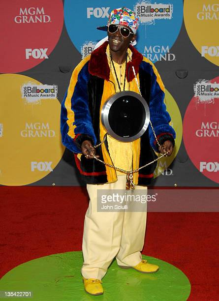 Flavor Flav during 2006 Billboard Music Awards - Arrivals at MGM Grand Hotel in Las Vegas, Nevada, United States.