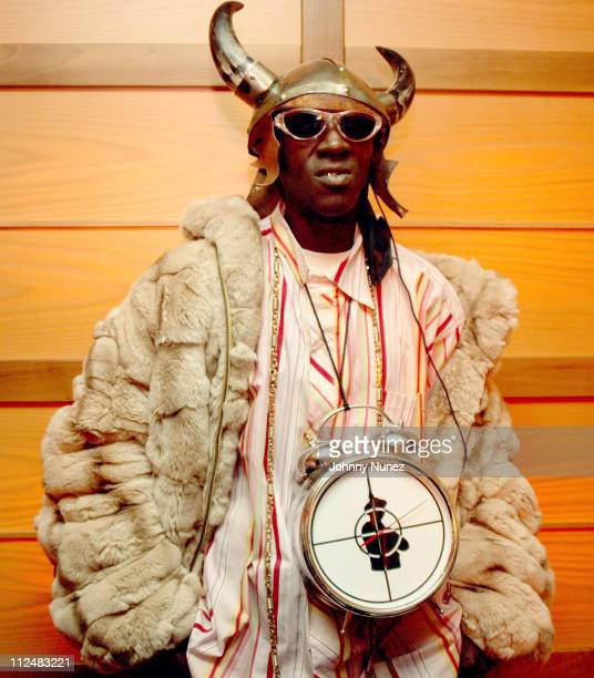 Flavor Flav during Fat Joe So Much More Video Shoot February 23 2005 at The Time Hotel in New York City New York United States