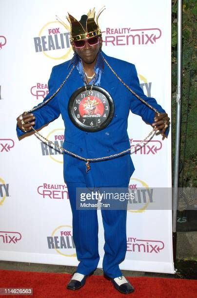 Flavor Flav during Fox Reality Presents The Reality Remix Really Awards Arrivals at Les Deux in Hollywood California United States