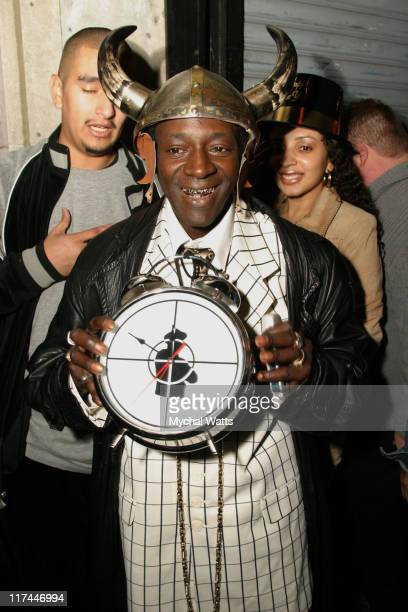 Flavor Flav during Noel Ashman Jesse Bradford and Joey McIntyre Present New Year's Eve 2005 Party at NA Night Club at NA Night Club in New York New...