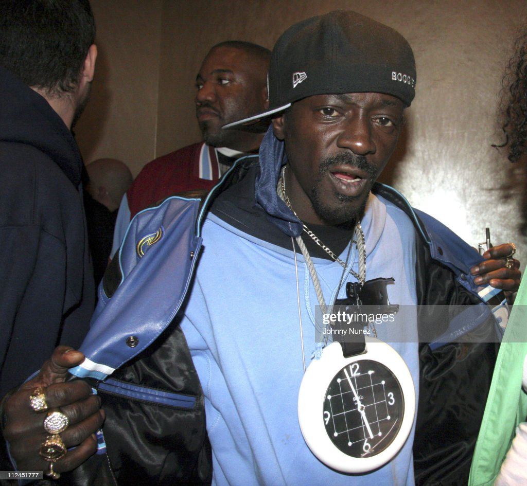 Flavor Flav during Phat Farm Party for Magic 06 - February 22, 2006 at Palm Hotel Hard wood Suite in Las Vegas, Nerevada, United States.