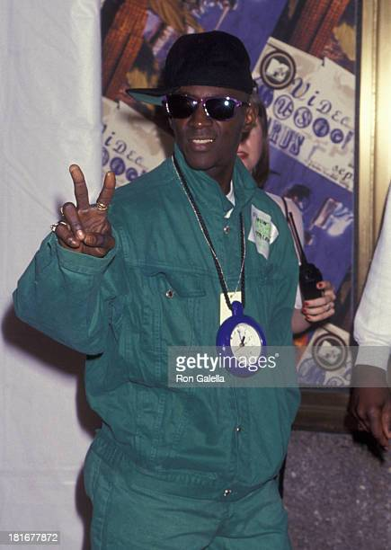 Flavor Flav of Public Enemy attends 11th Annual MTV Video Music Awards on September 8 1994 at Radio City Music Hall in New York City