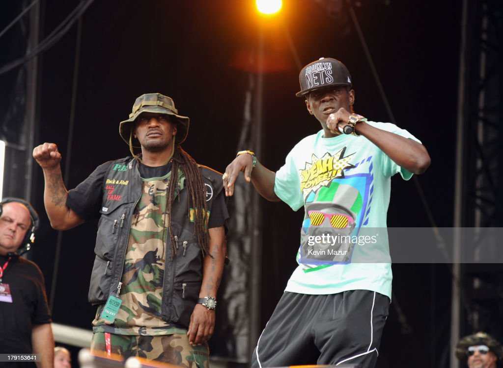 Flavor Flav performs during the 2013 Budweiser Made In America Festival at Benjamin Franklin Parkway on August 31, 2013 in Philadelphia, Pennsylvania.