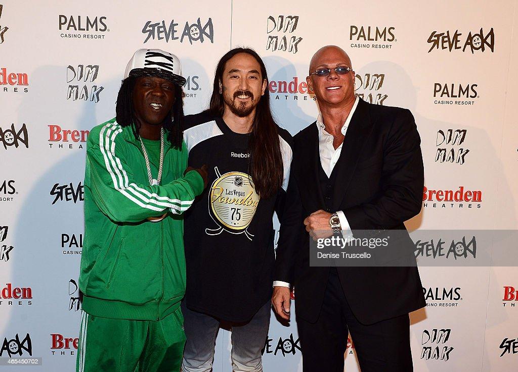 "Producer/DJ Steve Aoki Receives Brenden ""Celebrity Star"" At Palms Casino Resort : News Photo"