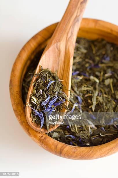 Flavoured té verde