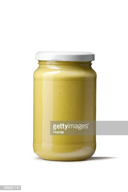 flavouring: mustard - jar stock pictures, royalty-free photos & images