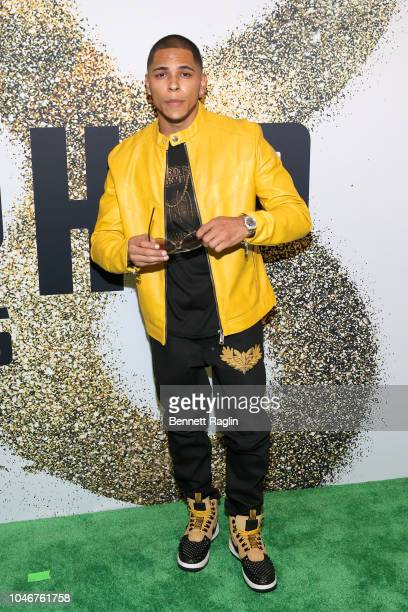 Flawless Real Talk arrives at the BET Hip Hop Awards 2018 at Fillmore Miami Beach on October 6 2018 in Miami Beach Florida