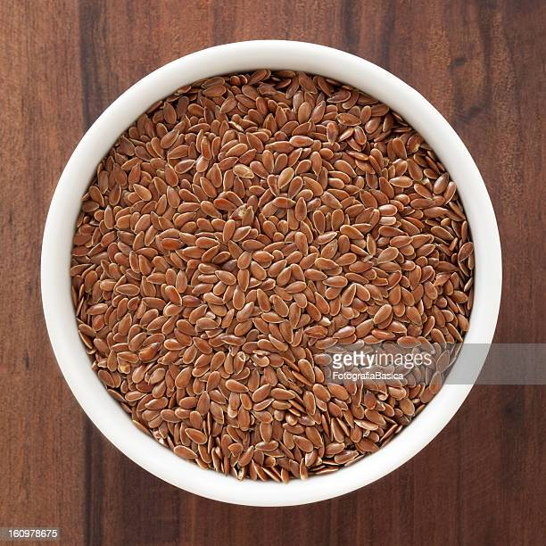 flax seeds - flax seed stock pictures, royalty-free photos & images
