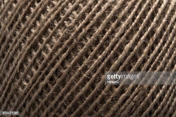 flax thread texture - opgerold samenstelling stockfoto's en -beelden