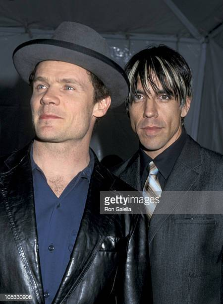Flea and Anthony Kiedis during 15th Annual Soul Train Awards at Shrine Auditorium in Los Angeles California United States