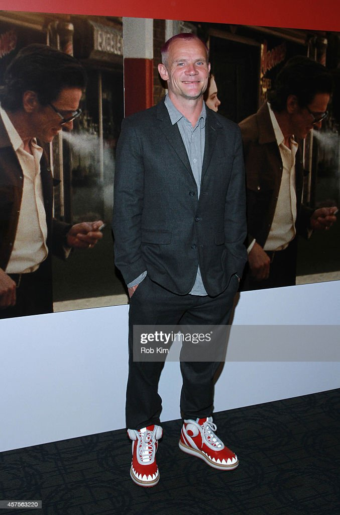 Flea attends 'Low Down' New York Premiere at Sunshine Landmark on October 20, 2014 in New York City.