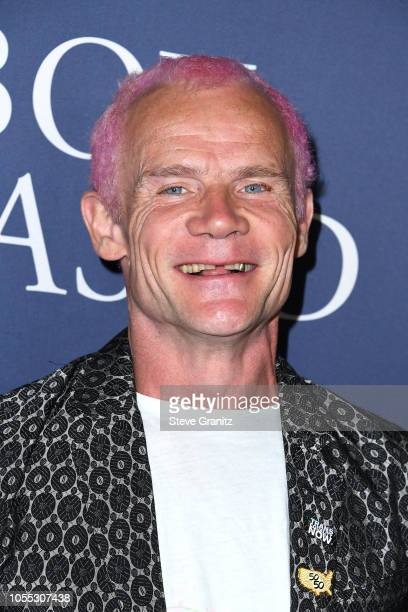 """Flea attends the premiere of Focus Features' """"Boy Erased"""" at Directors Guild Of America on October 29, 2018 in Los Angeles, California."""