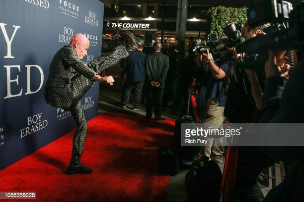 Flea attends the premiere of Focus Features' 'Boy Erased' at Directors Guild Of America on October 29, 2018 in Los Angeles, California.