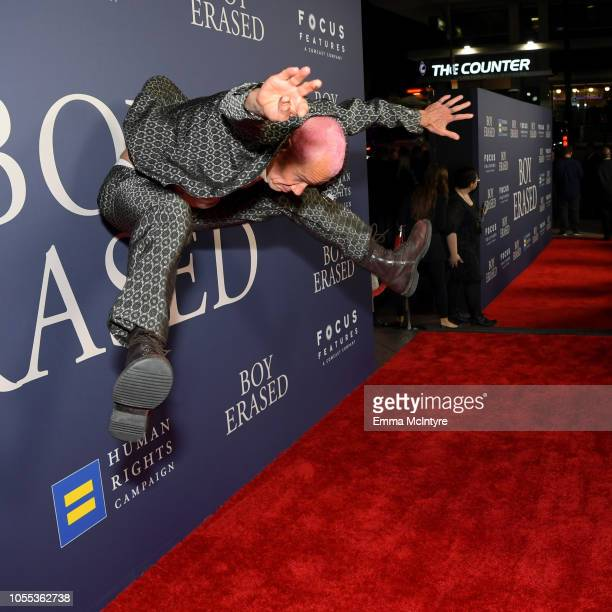 Flea attends the premiere of Focus Features' Boy Erased at Directors Guild Of America on October 29 2018 in Los Angeles California