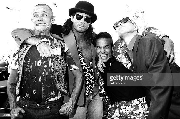 Flea, Chad Smith, Anthony Kiedis and John Frusciante of Red Hot Chili Peppers
