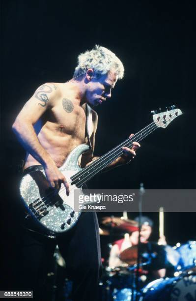 Flea Chad Smith Red Hot Chili Peppers Sportpaleis Antwerpen Belgium