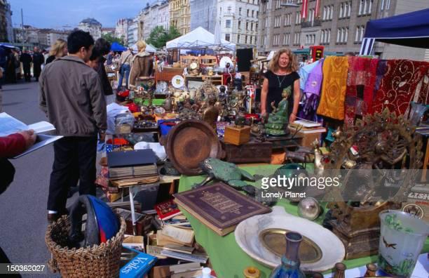 Flea market at Naschmarkt, Wieden.