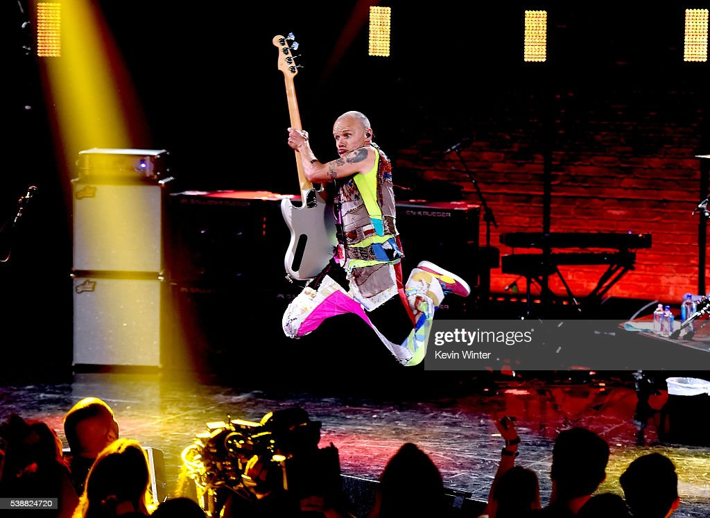 Red Hot Chili Peppers iHeartRadio Album Release Party On AT&T LIVE : News Photo