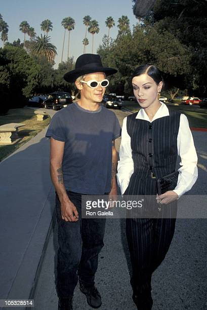 Flea of the Red Hot Chili Peppers and Debi Mazar during Party Celebrating the Renaming of Def American Records as American Records at Shatto 30 Lanes...