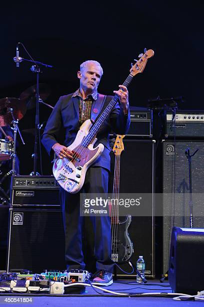 Flea performs with The Denardo Coleman Vibe during 'Celebrate Ornette The Music of Ornette Coleman' part of the 2014 Celebrate Brooklyn season at the...