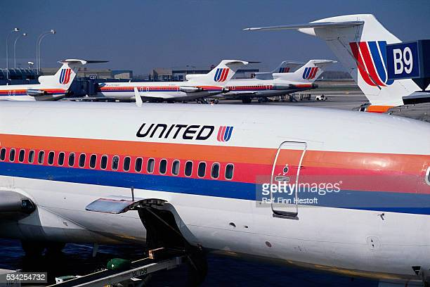 Fleet of United Airplanes at O'Hare Airport