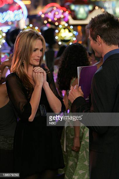 LAS VEGAS Fleeting Cheating Meeting Episode 10 Aired 1/12/07 Pictured Molly Sims as Delinda Deline Josh Duhamel as Danny McCoy
