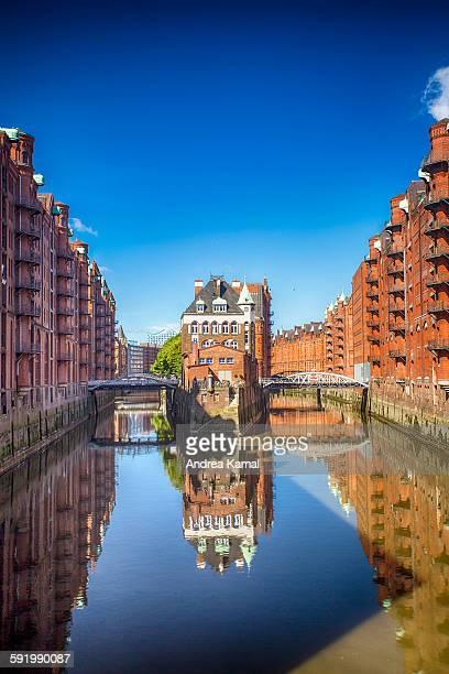 Fleetschloss, Speicherstadt, Hamburg, Germany