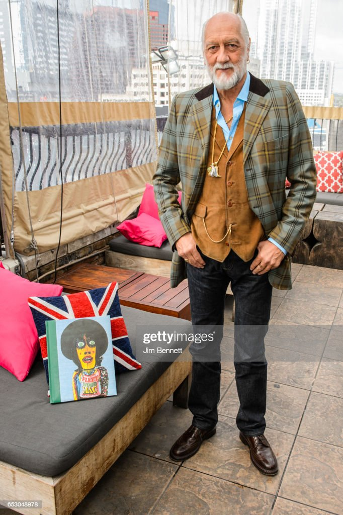 Fleetwood Mac founder Mick Fleetwood discusses his new book Love That Burns during the SxSW Conference at The Great Britain pub on March 13, 2017 in Austin, Texas.