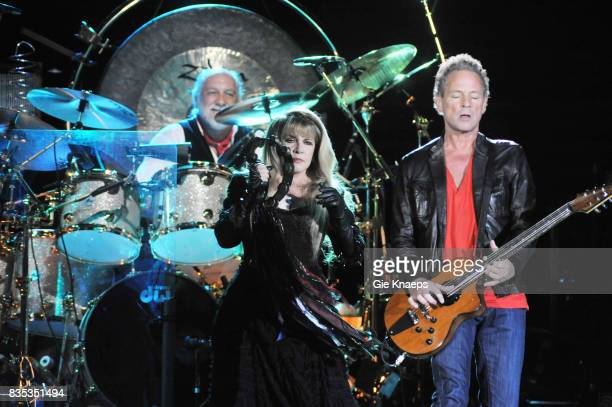 Fleetwood Mac, Mick Fleetwood, Lindsey Buckingham, Stevie Nicks, Sportpaleis, Antwerp, Belgium, .