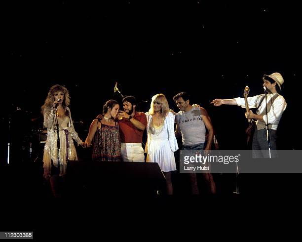 Fleetwood Mac Performs at the US Festival in Devore California on May 28 1983