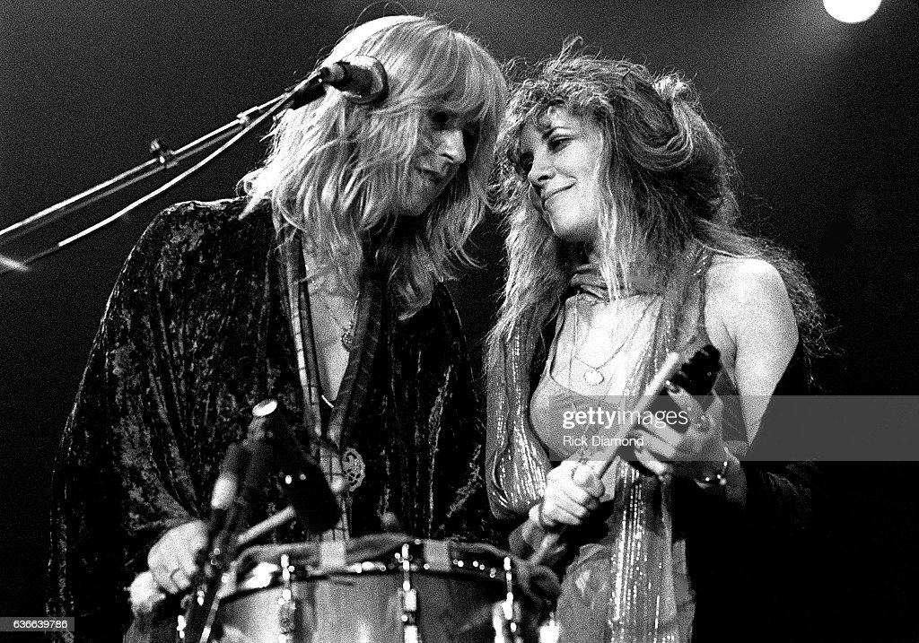 Fleetwood Mac, Rock and Roll Hall of Fame (Class of 1998) Christine McVie and Stevie Nicks perform at The Omni Coliseum in Atlanta Georgia June 1, 1977