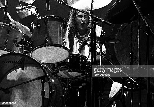 Fleetwood Mac Rock and Roll Hall of Fame Mick Fleetwood performs at The Omni Coliseum in Atlanta Georgia June 1 1977