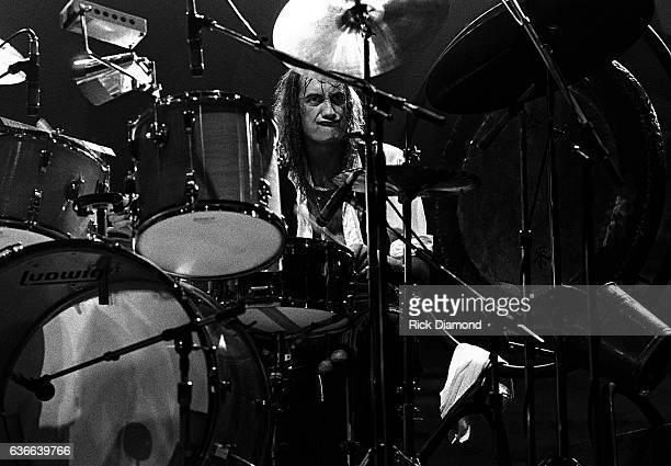 Fleetwood Mac Rock and Roll Hall of Fame Mick Fleetwood performs at The Omni Coliseum in Atlanta Georgia June 1 1977