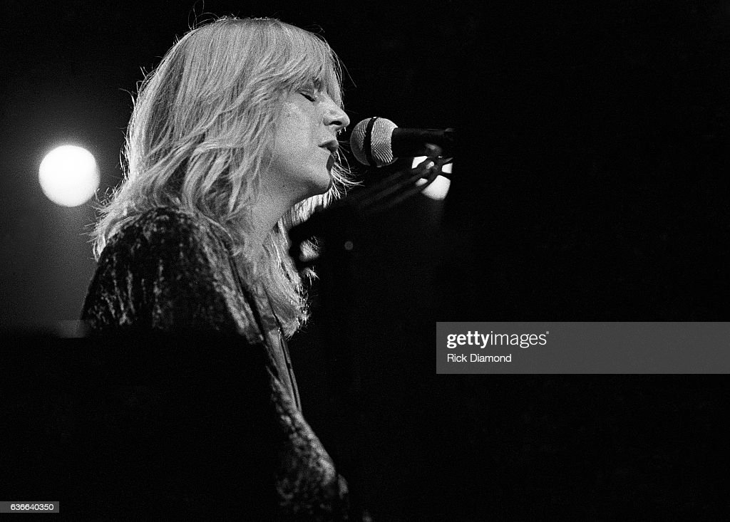 Fleetwood Mac, Rock and Roll Hall of Fame (Class of 1998) Singer/Songwriter Christine McVie performs at The Omni Coliseum in Atlanta Georgia June 1, 1977