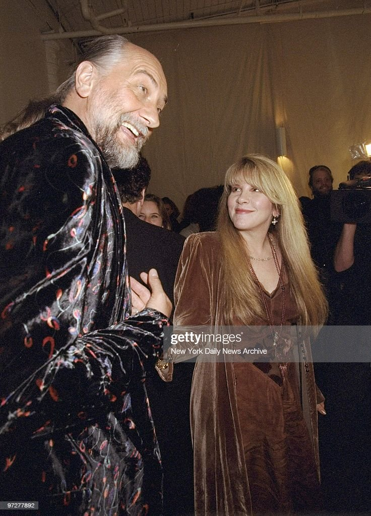 Fleetwood Macu0027s Mick Fleetwood and Stevie Nicks attending a  sc 1 st  Getty Images & Fleetwood Macu0027s Mick Fleetwood and Stevie Nicks attending a Pictures ...