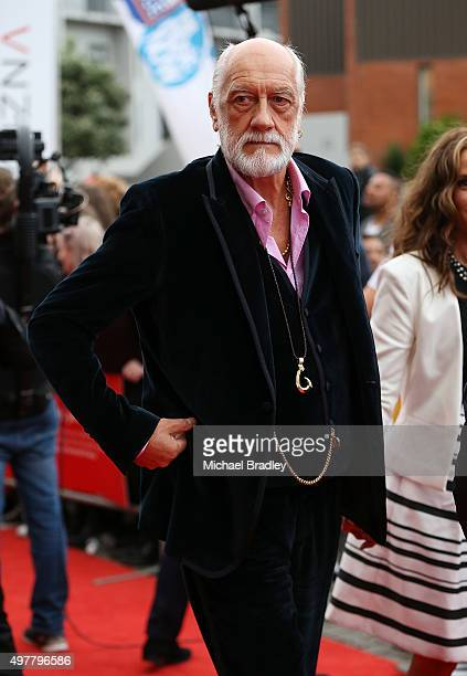 Fleetwood Mac's Mick Fleetwood arrives at the Vodafone New Zealand Music Awards at Vector Arena on November 19 2015 in Auckland New Zealand