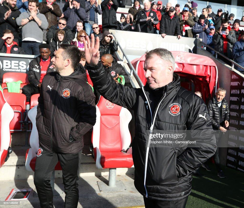 Fleetwood Town v Milton Keynes Dons - Sky Bet League One : News Photo